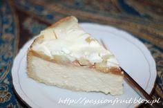 Apple  Caramel Cheesecake. Sernik z masą krówkową i jabłkami