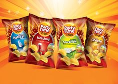PARTY TIME CHIPS on Behance