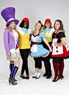 Alice in Wonderland DIY Costumes - I Run in Heels
