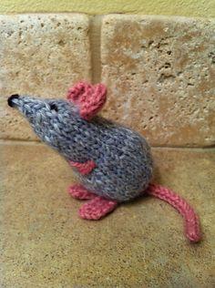 Ravelry: knitspinweaver's Toerag the Tube Mouse
