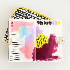 Elma de Jonge | art journal page #artjournal #art #painting #design #color #spring