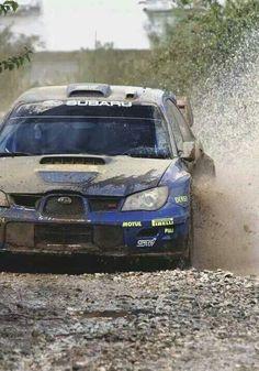Subie in the mud!