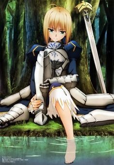 Saber | Fate/Stay Night #anime