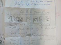Boceto de Ainhoa con el guión del cómic Personalized Items, Scripts, Sketch, Blue Prints