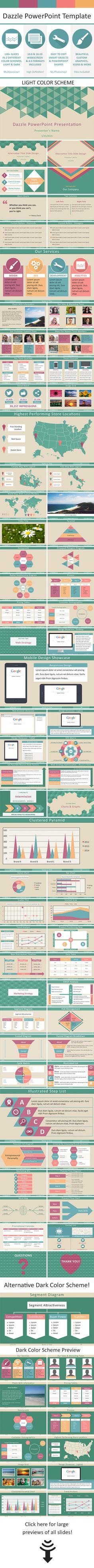 Dazzle Multipurpose PowerPoint Template (PowerPoint Templates)