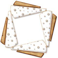 Rámečky průhledné 1 - čtverec a obdélník | Tvoření Halloween Frames, Christmas Frames, Decoupage Vintage, Wicca, Arts And Crafts, Scrapbook, Printables, Accessories, Cool Stuff To Make