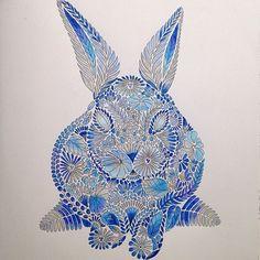 coloring ideas-bunny