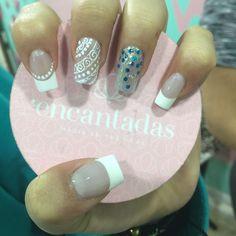 Cool, Nail Art, Nails, Beauty, Designed Nails, Work Nails, French Tips, Fingernail Designs, Tennis