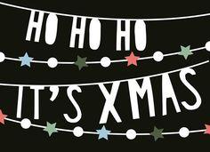 Ho Ho Ho It's Xmas!  #Hallmark #HallmarkNL #kerstkaart #hip