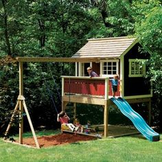 Backyard Playhouse Plan - Rockler Woodworking Tools