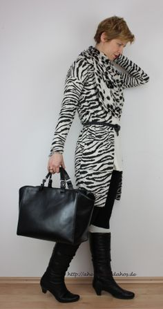 black and white and pattern in the mix :-) http://ahemadundahos.de