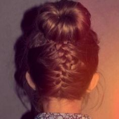 @Lauren Kornegay! I don't know if you like this or not but I could easily do this with your hair.