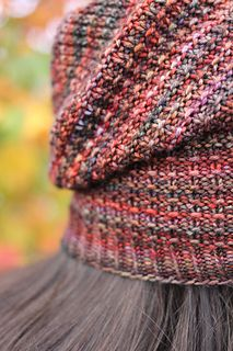 Octoberfest Hat - free pattern - from Sarah Stewart knit in Malabrigo Arroyo