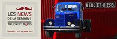 Du 4 au 8 février 2015, Rétromobile avec la Fondation Berliet 26 janvier 2015 - Le BERLIET type TDR 7 W de 1948 à l'honneur à Paris