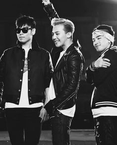 T.O.P, GD, and Taeyang