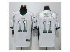 09f2e91f6 Women Nike Philadelphia Eagles  11 Carson Wentz White Drift Fashion NFL Jersey  Eagles Jersey