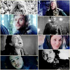 The Strarks I never thought that Jon would die