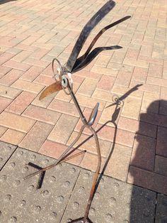 Golf Iron Bird Garden sculpture Yard Art $30