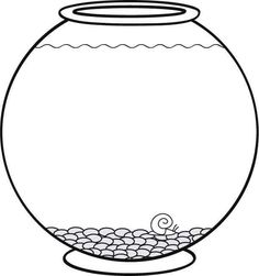 Empty Fish Bowl Coloring Page Daycare Fish Coloring Pages - Empty-fish-bowl-coloring-page
