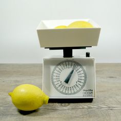 Vintage Kitchen Scale Retro Kitchen Scale Food by DKVINTAGEGALLERY