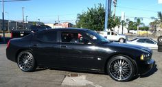 Charger on 22-inch Velox LX-M Wheels
