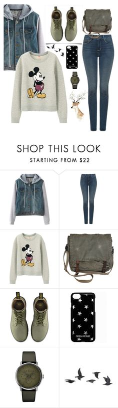 """#happy"" by legozorg ❤ liked on Polyvore featuring NYDJ, Uniqlo, Dr. Martens, Zadig & Voltaire, Ted Baker and Jayson Home"