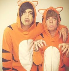Austin Carlile and Alan Ashby. :DD (Of Mice & Men)