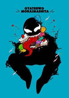 Venom Comics, Superfamily, Predator, Best Friends, Lovers, Marvel, Animation, Adventure, Disney