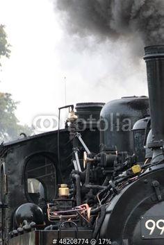 Dampflokomotive der Harzer Schmalspurbahnen von Martina Berg, lizenzfreies Foto #48208774 auf Fotolia.com