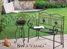 "Banca ""Kaamla""  Cómprala en http://www.decoracionesrubios.com/index.php?route=product/product&path=63&product_id=506"