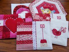 Valentine Mug Rugs