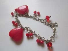 Valentines day gift for her Fashion Women Lots  Bracelet  Charm Chain Jewelry   #Handmade