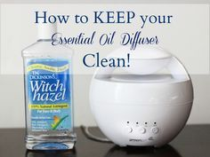 How to Keep your Essential Oil Diffuser from Becoming Dirty