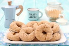 Bagel, Doughnut, Italian Recipes, Cake Recipes, Biscuits, Deserts, Food Porn, Sweets, Homemade