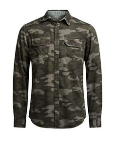 STYLE MILITAIRE CHEMISE CASUAL