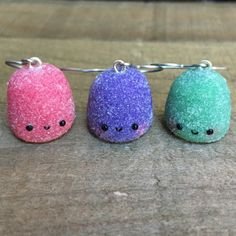 Make your holidays a little sweeter with these super cute clay gumdrop earrings!!!