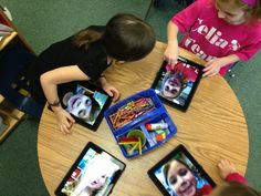 iPads in Kindergarten ROCK! - Bridge Point Elementary Educational Technology Department