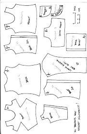 Resultado de imagem para free printable ken doll clothes patterns