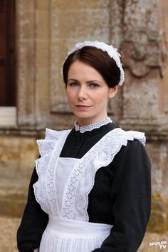 Jane, housemaid in Series 2.  She had to leave because she was in love with Lord Grantham.
