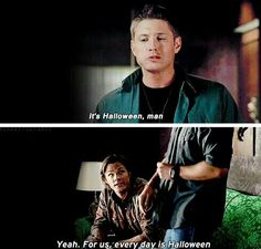 Everyday is Halloween 4x07 It's the Great Pumpkin, Sam Winchester