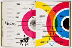 Spread from Westvaco II: Inspiration for Printers 1953-55 graphic design, editori, westvaco inspir, inspiration, dates, layout, book, bradburi thompson, blog