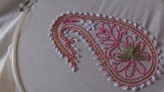 Hand embroidery designs-chickenkari/shadow work/luknowi embroidery with gotta patti work – handiwork Hand Embroidery Dress, Hand Embroidery Videos, Embroidery Stitches Tutorial, Learn Embroidery, Embroidery For Beginners, Crewel Embroidery, Hand Embroidery Patterns, Embroidery Techniques, Embroidery Kits