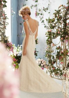 View Dress - Mori Lee Voyage FALL 2013 Collection: 6765 - Poetic Lace | MoriLee Bridal