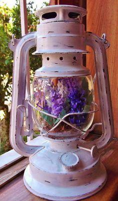 Lampião Vintage | MH - Eco Ideias | 35E1A6 - Elo7