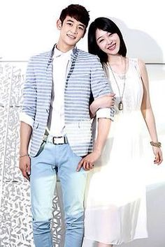 Minho and Sulli from drama TTBY