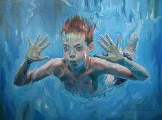 Amelia Alcock-White is an artist who creates very expressive oil on canvas paintings. Alcock-White originally hails from Ladysmith, British Columbia, Canada.
