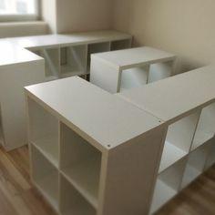 反響いただいております、イケア家具でDIYして作る、大容量収納付きのクイーンサイズベットの作り方をご紹介します!