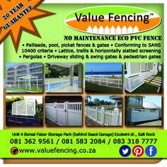 Value Fencing PVC Ballito