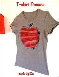 T-shirt pour ma pomme - made by iSa