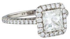Gorgeous! Diamond Halo Engagement Ring (scheduled via http://www.tailwindapp.com?utm_source=pinterest&utm_medium=twpin)